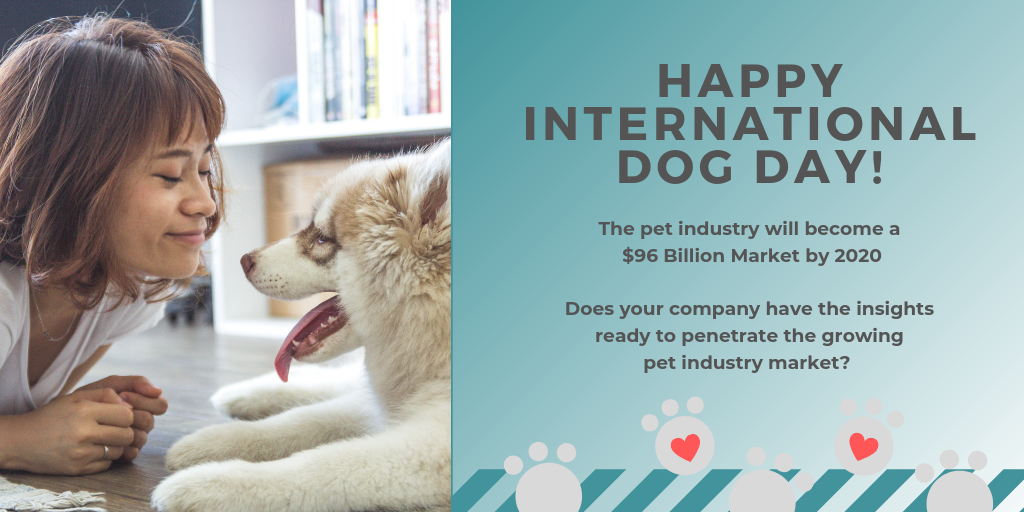 The Pet Industry is expected to reach $95 Billion by 2020-3